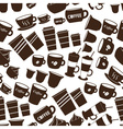 coffee cups and mugs sizes variations icons vector image