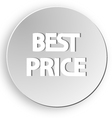 best price sticker button sale vector image