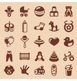 design elements for children and kids vector image