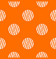 striped sewing button pattern seamless vector image