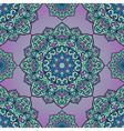 Violet pattern of mandalas vector image