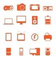 Electronic Technology Device Icon Basic Style vector image