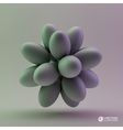 3D concept vector image