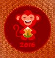 golden monkey vector image