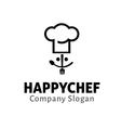 Happy Chef Design vector image
