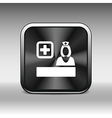 icon doctor closeup medical graphic design vector image