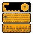 The honey vector image