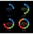 year month day date time season half calendar vector image