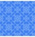 Blue Decorative Retro Seamless Pattern vector image