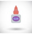 Glue icon vector image
