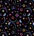 tiny celestial wallpaper vector image vector image