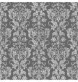 distressed floral pattern vector image vector image