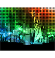colorful urban vector image