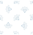 Diamonds a large set of different versions the vector image
