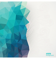 Triangle pattern background triangle background vector image
