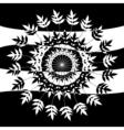 fern rosette vector image
