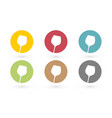 colorful glass wine icon in circle vector image