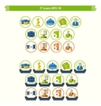 IT Icons vector image
