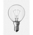 Light bulb for bedside lamp vector image