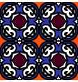Multicolor ethnic pattern Indian motifs vector image