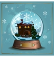Snow Ball vector image