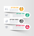 Modern business infographics template vector image vector image