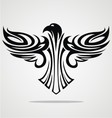 Flying Eagle Tribal vector image