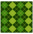 Argyle Green Design vector image