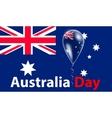 Australia Day Flag vector image