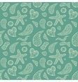 Abstract shapes seamless pattern for your design vector image