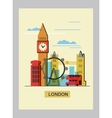 color london vector image vector image