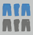 Men sport shorts vector image