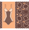 Beautiful lingerie vector image vector image