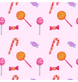 Seamless of Sweets and candies vector image