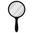 Hand mirror vector image