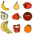 Vegetable and Fruit Set vector image