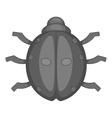 Ladybug icon cartoon style vector image