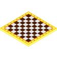 Checkerboard vector image