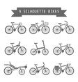 BWbike vector image