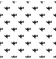 pigeon fly with mail pattern vector image