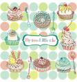 cake wallpaper vector image vector image