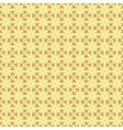 Golden pattern background with octagons vector image