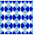 Two-color pattern of blue circles vector image