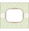 wedding invitation card style vector image vector image