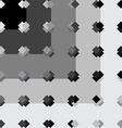 Black and white pattern vector image