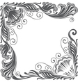 vintage decoration vector image
