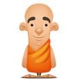 zen monk vector image
