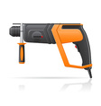 electric perforator vector image