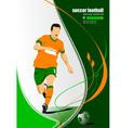 al 0214 football vector image vector image