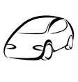 Car symbol vector image